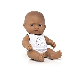 "Baby Doll Hispanic Girl 8¼"""