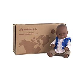 """Baby Doll 12 5/8"""" (31037)+ Clothes (31639)"""