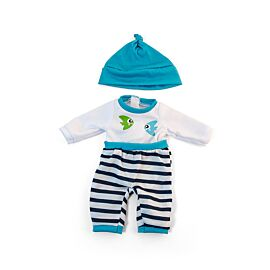 """Cold weather turq. Pjs 12 5/8"""""""
