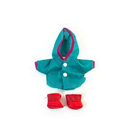 """Raincoat + boots 8¼"""""""