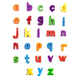 Magnetic Lowercase Letters (154 pieces)