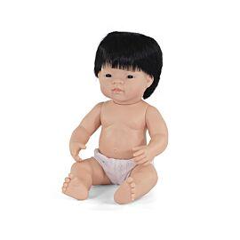 """Baby Doll Asian Boy 15"""""""