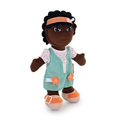 Diversity Fastening Soft Body Doll African Girl