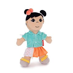 Diversity Fastening Soft Body Doll Asian  Girl
