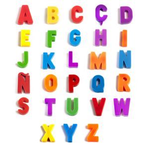 Magnetic Uppercase Letters (308 pieces)