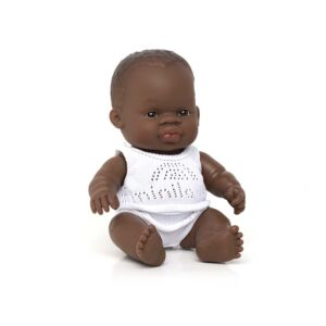 Muñeca bebé africana 21 cm