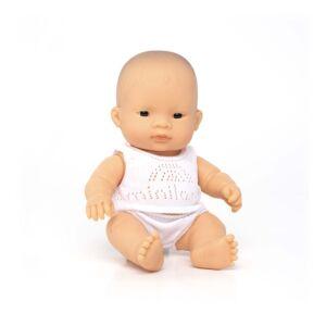 Baby asiático niña 21 cm