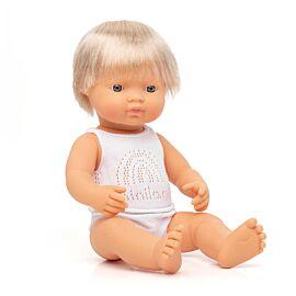 Muñeco bebé caucásico 38 cm
