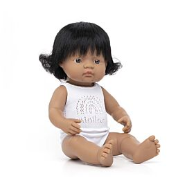 Muñeca bebe latinoamericana 38 cm