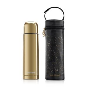 deluxe thermos gold