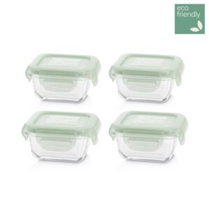 set 4 naturSquare chip
