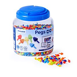 PEGS 10mm 2600 PCS. COUL. CLAIRES