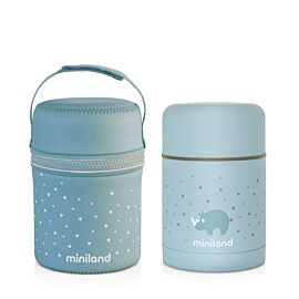 SILKY FOOD THERMOS AZURE 600ML