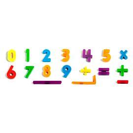 NUMEROS MAGNETICOS 162 pz./Bo*
