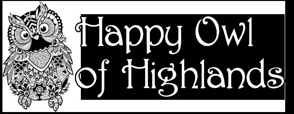 logo happy owl