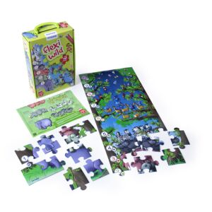 NEW ANIMALS & NUMBERS PUZZLE