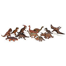 DINOSAURS CONTAINER 12 FIGURES