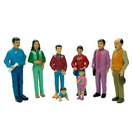 SOUTH AMERICAN FAMILY 8 FIGURE