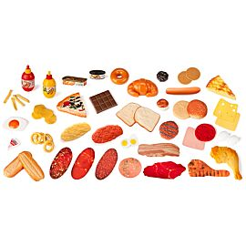FAST FOOD ASSORTMENT 52 PIECES