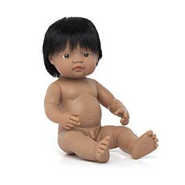 "BABY DOLL HISPANIC BOY 15"""