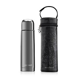 DELUXE THERMOS SILVER