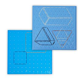 SET OF 6 GEOBOARDS 23CN 6 COLO