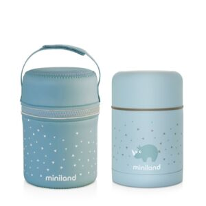 SILKY FOOD THERMOS AZURE